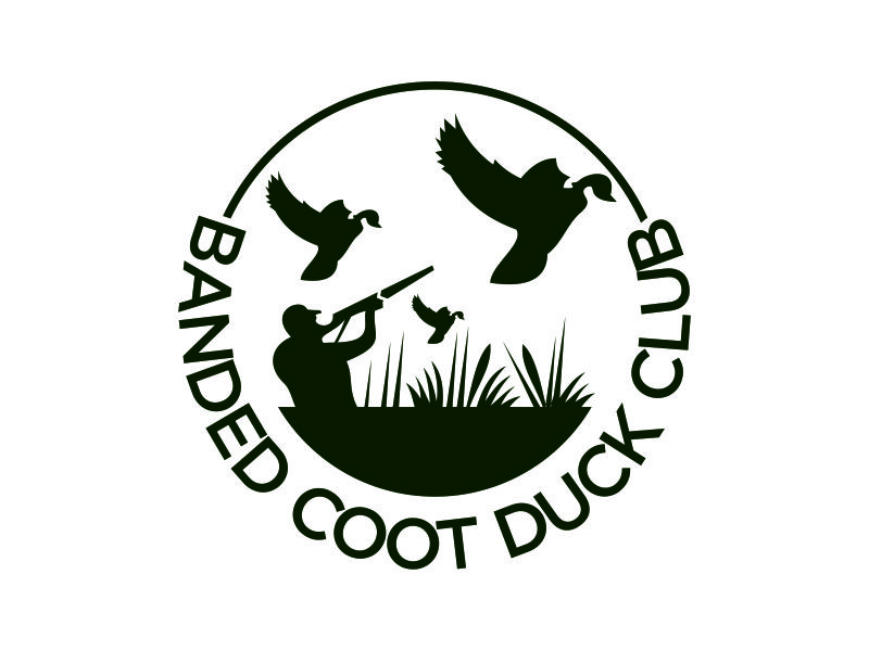 Banded Coot Duck Club logo design by azizah