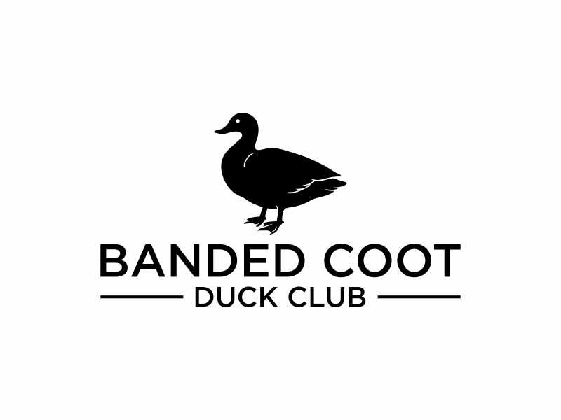 Banded Coot Duck Club logo design by Franky.