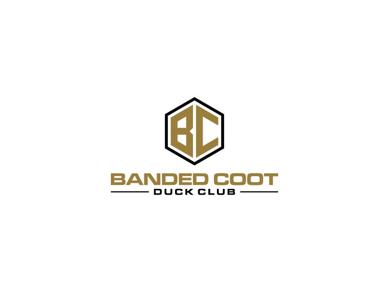 Banded Coot Duck Club logo design by rian38