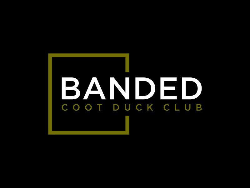 Banded Coot Duck Club logo design by Walv