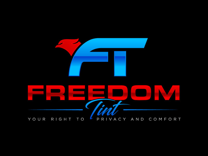 Freedom Tint Logo Design