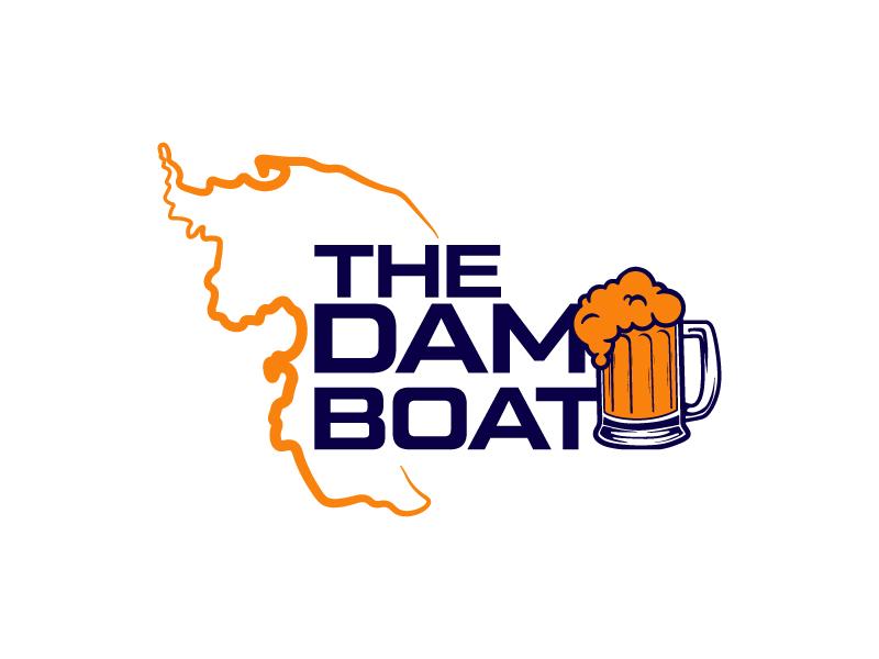 The Dam Boat logo design by Erasedink
