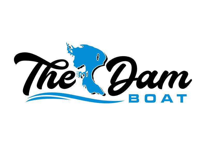 The Dam Boat Logo Design