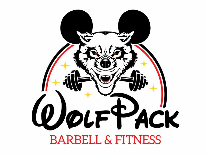 WOLFPACK MICKEY Logo Design