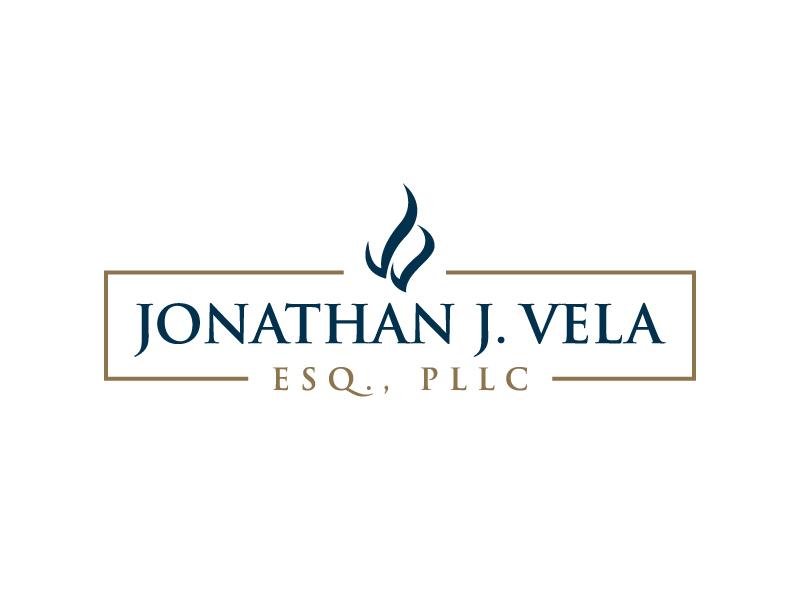 JONATHAN J. VELA, ESQ., PLLC Logo Design