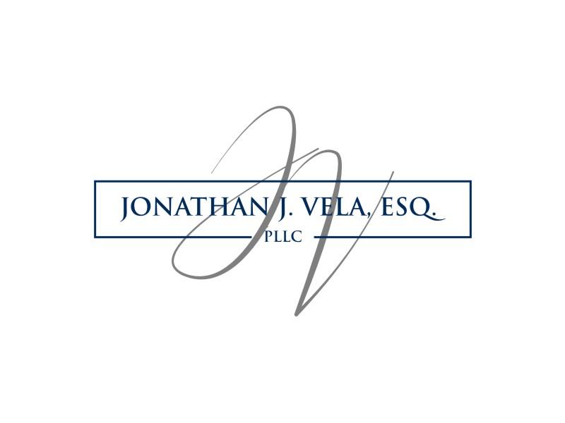 JONATHAN J. VELA, ESQ., PLLC logo design by ohtani15