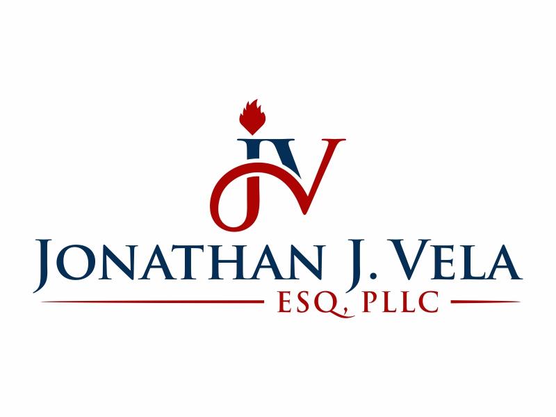 JONATHAN J. VELA, ESQ., PLLC logo design by FriZign