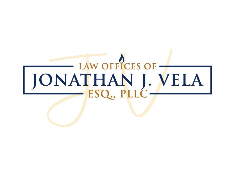 JONATHAN J. VELA, ESQ., PLLC logo design by Erasedink