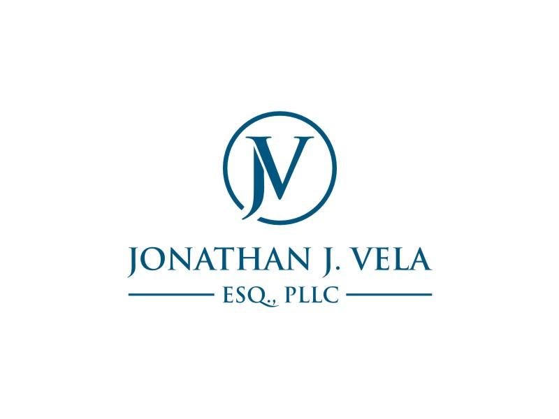 JONATHAN J. VELA, ESQ., PLLC logo design by sodimejo