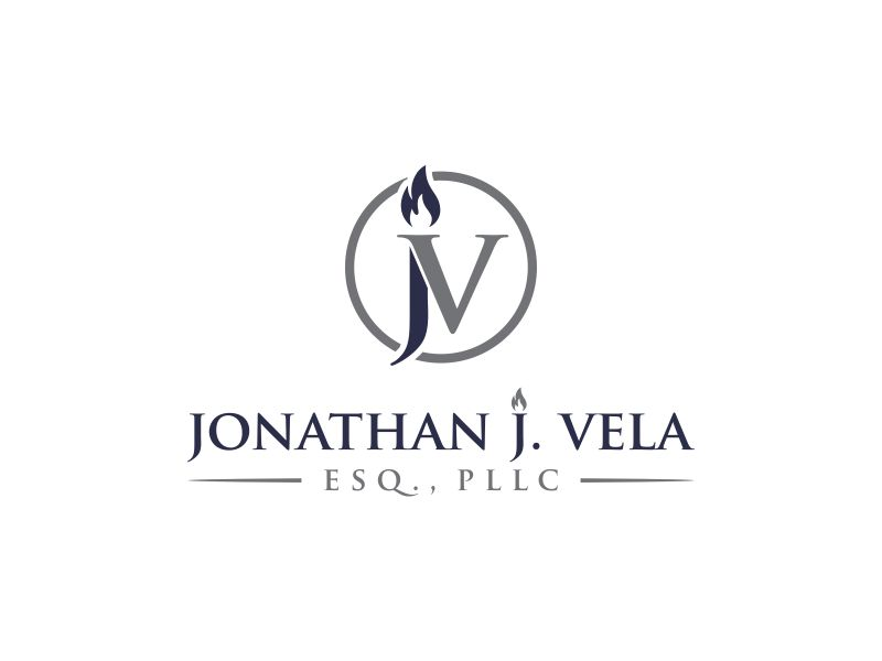 JONATHAN J. VELA, ESQ., PLLC logo design by oke2angconcept