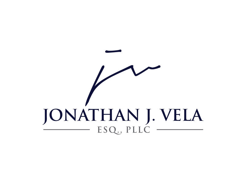 JONATHAN J. VELA, ESQ., PLLC logo design by GassPoll