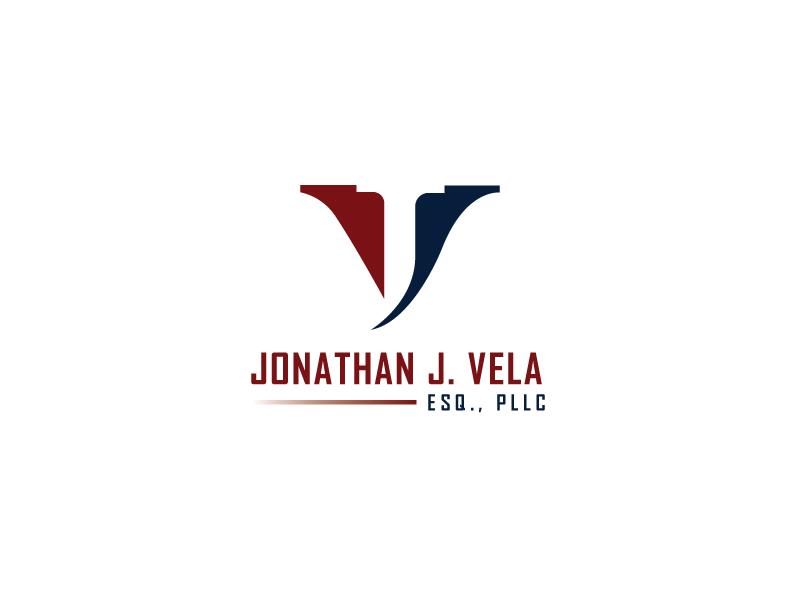 JONATHAN J. VELA, ESQ., PLLC logo design by Muazzam Ali