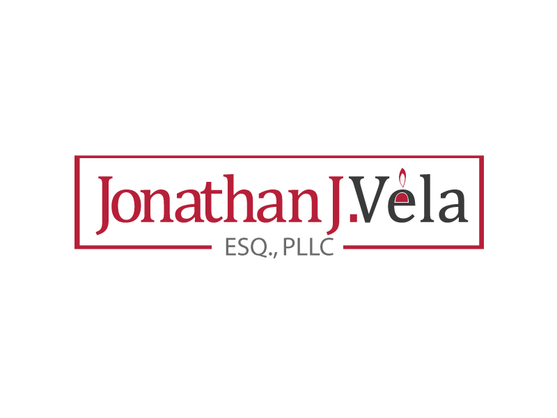 JONATHAN J. VELA, ESQ., PLLC logo design by webmall