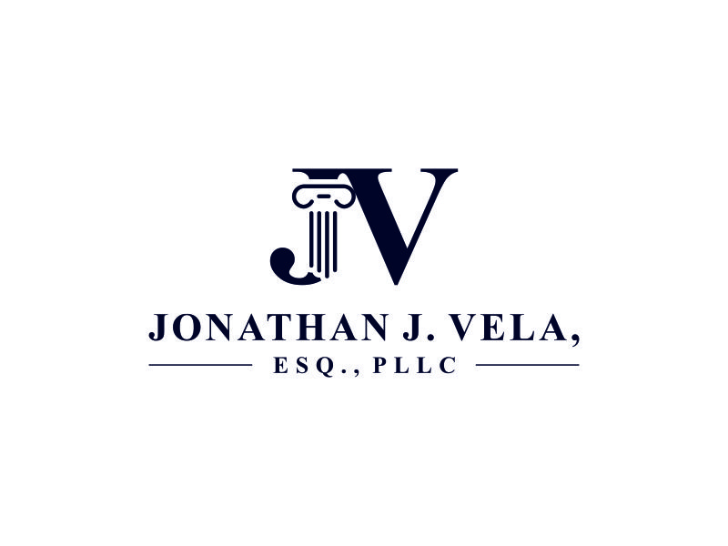 JONATHAN J. VELA, ESQ., PLLC logo design by andawiya