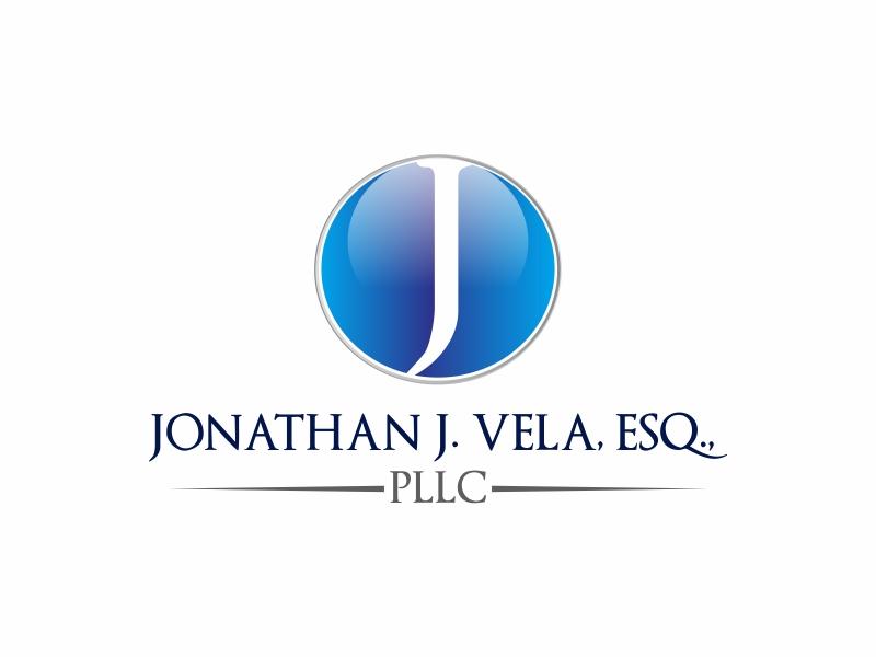 JONATHAN J. VELA, ESQ., PLLC logo design by Greenlight