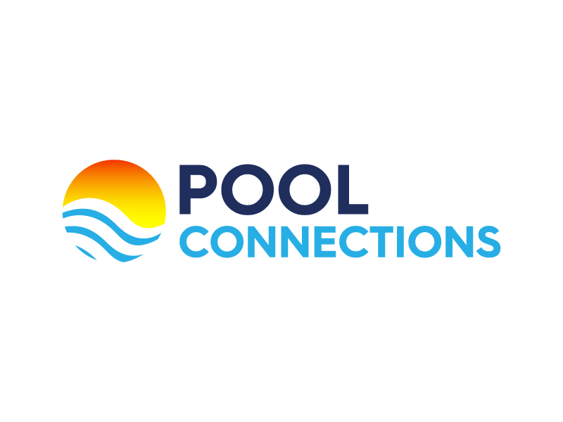 Pool Connections Logo Design
