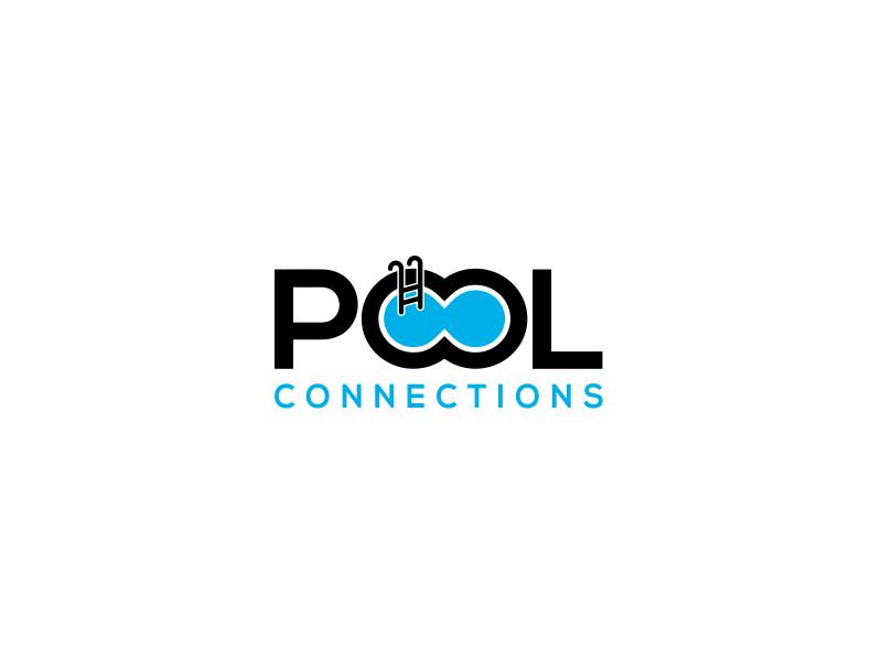 Pool Connections logo design by kimora