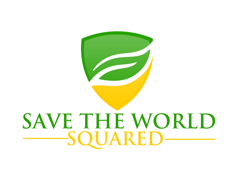 Save the World Squared or STW2 Logo Design
