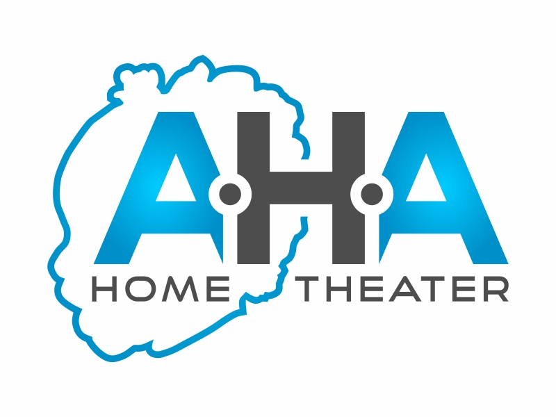 AHA Home Theater logo design by FriZign