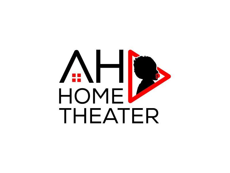 AHA Home Theater logo design by Shabbir