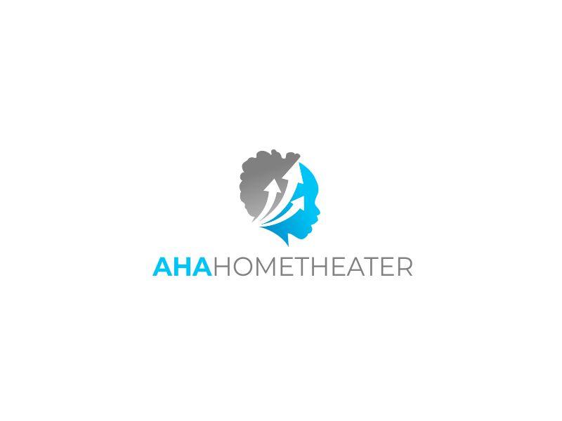 AHA Home Theater logo design by kimora