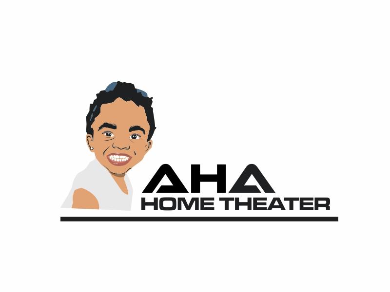 AHA Home Theater logo design by ian69