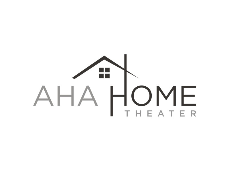 AHA Home Theater logo design by Arto moro