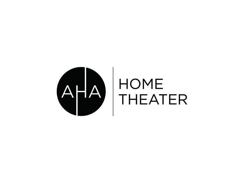 AHA Home Theater logo design by pel4ngi