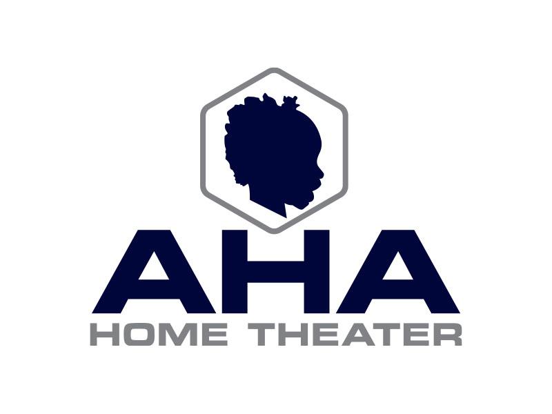 AHA Home Theater logo design by bluespix