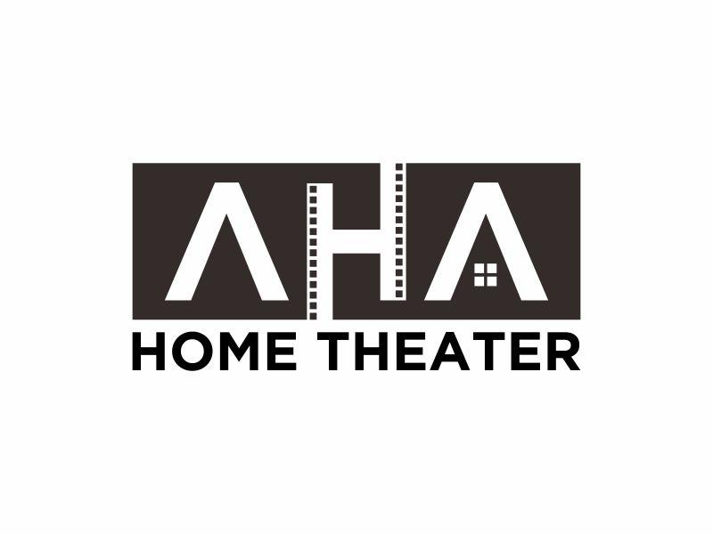 AHA Home Theater logo design by josephira