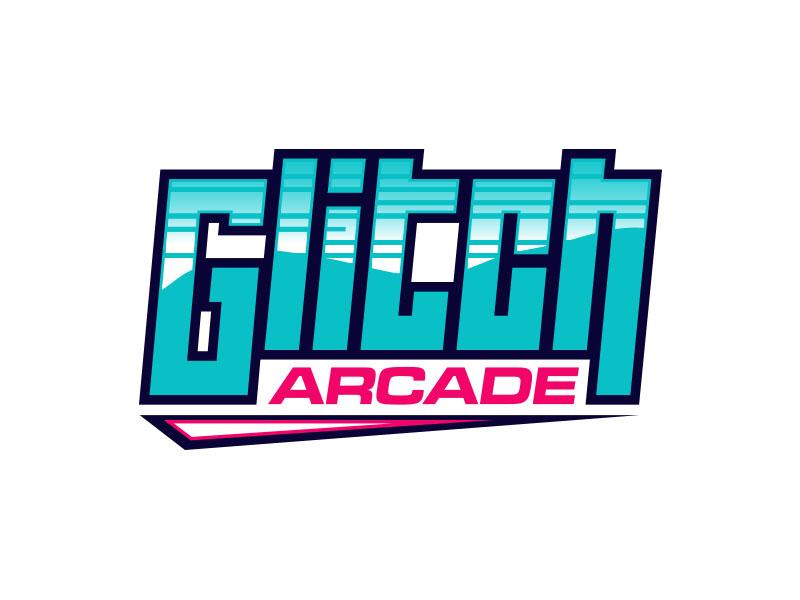 Glitch Arcade logo design by Wahyu Asmoro