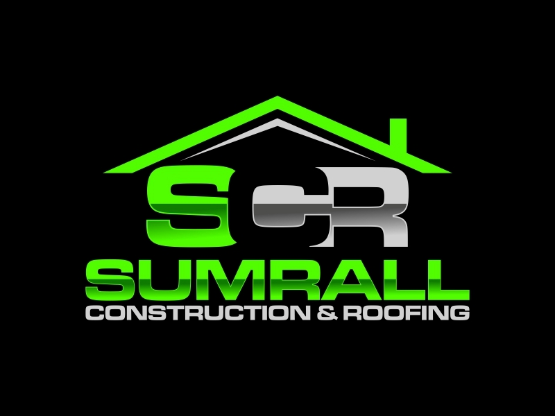 Sumrall Construction & Roofing or SCR ( Something of the sort ) logo design by DeyXyner