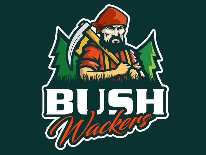 Bush Wackers logo design by Bananalicious