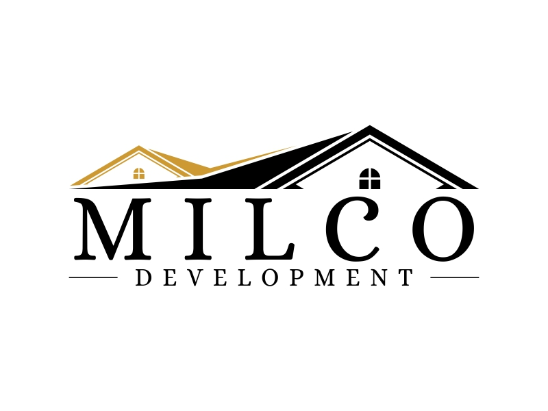Milco Development logo design by ekitessar