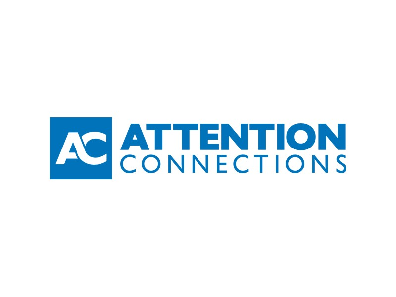 Attention Connections Logo Design