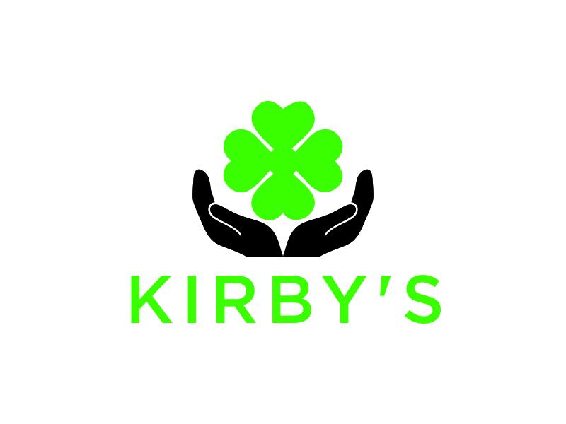 Kirby's logo design by santrie
