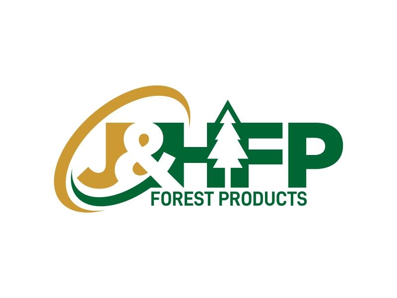 J&H Forest Products logo design by ekitessar