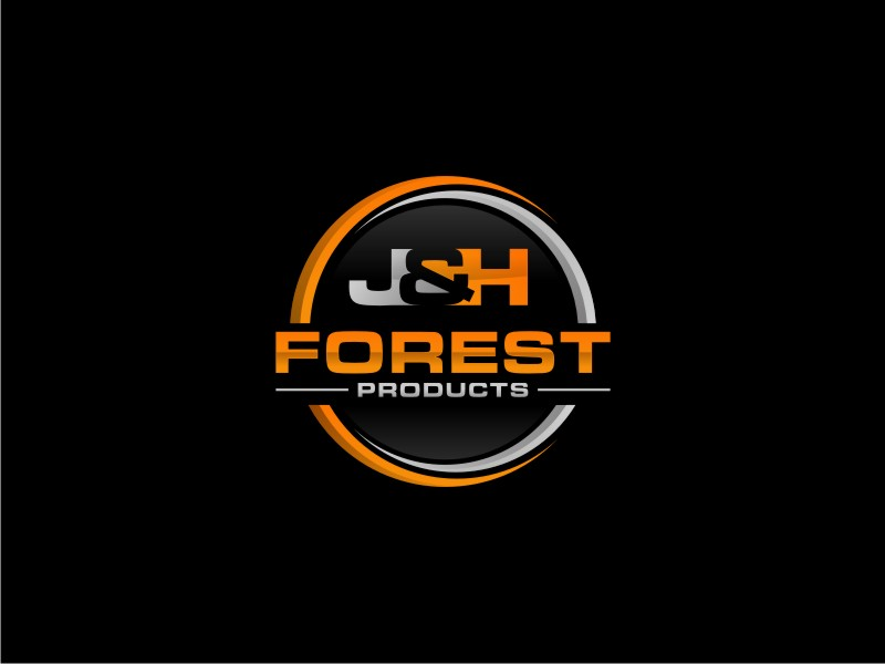 J&H Forest Products logo design by Paseo