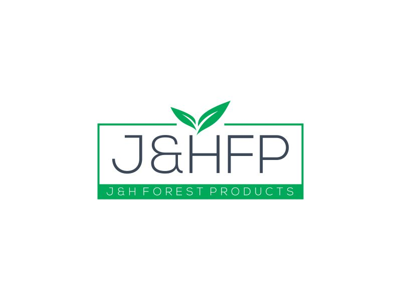 J&H Forest Products logo design by restuti
