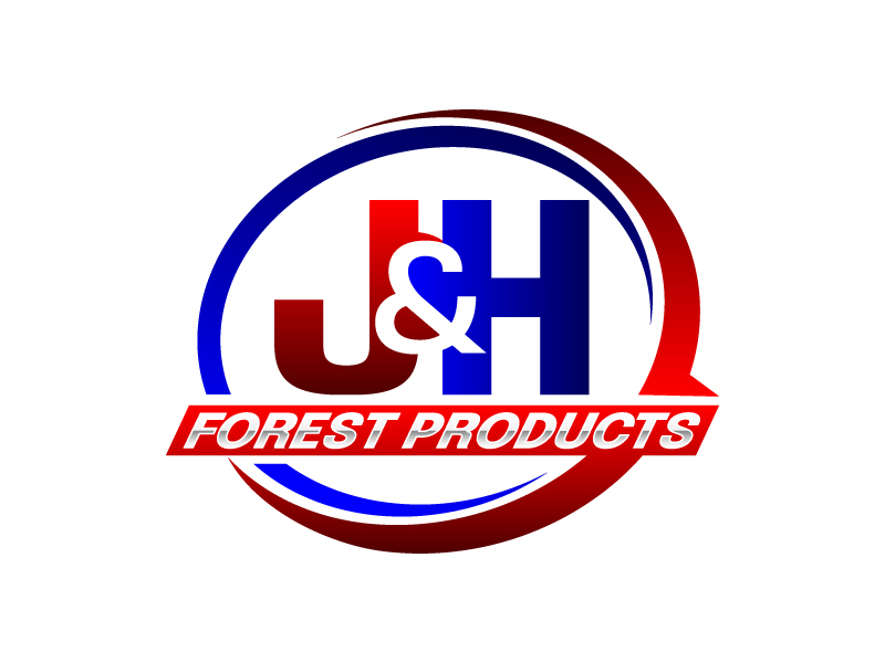 J&H Forest Products logo design by Vu Acim
