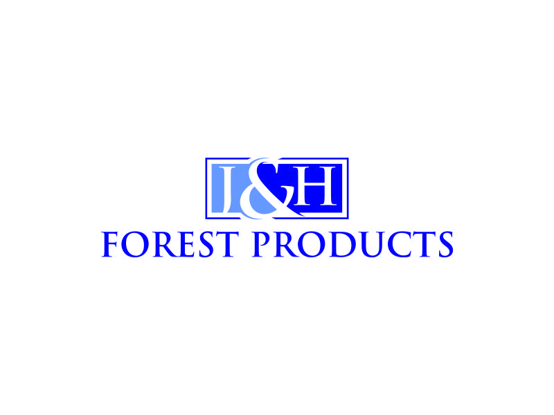 J&H Forest Products logo design by Lewung