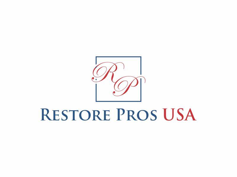 Restore Pros USA logo design by hopee
