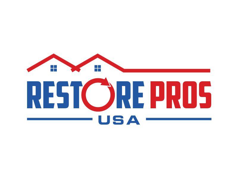 Restore Pros USA logo design by kopipanas
