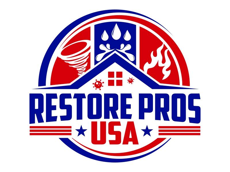 Restore Pros USA logo design by qqdesigns