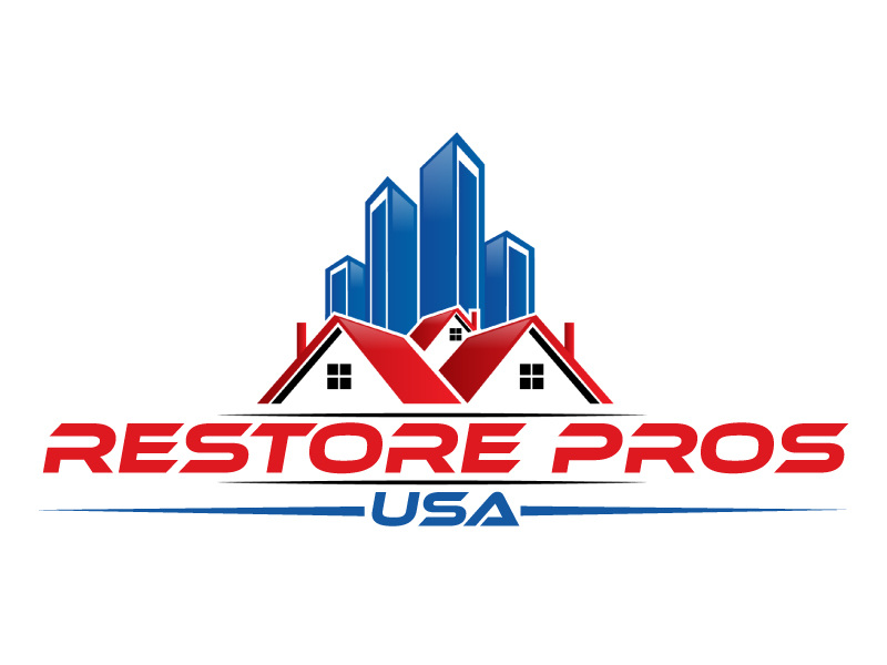 Restore Pros USA logo design by ElonStark