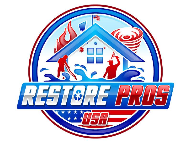 Restore Pros USA logo design by Suvendu