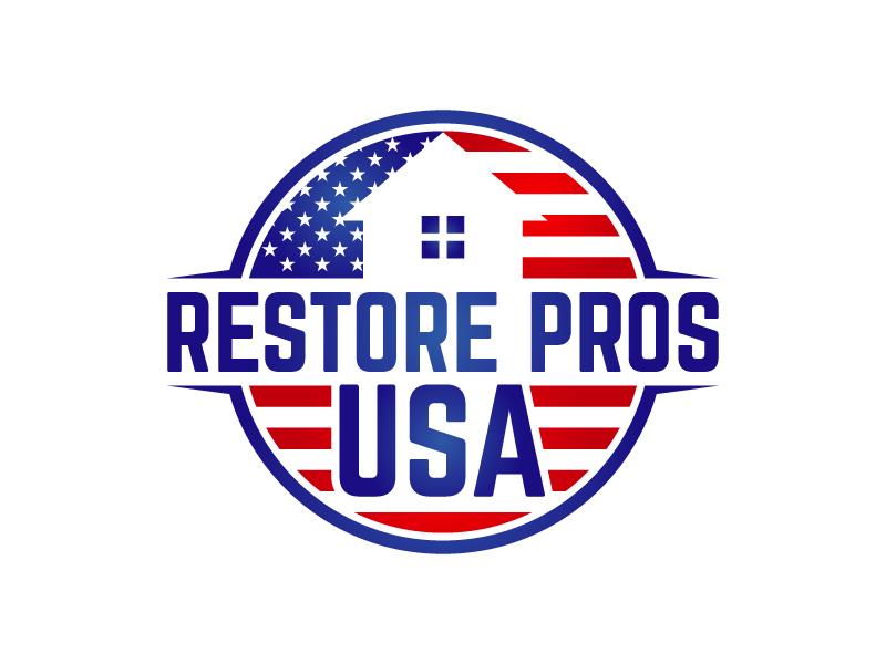 Restore Pros USA logo design by lokiasan