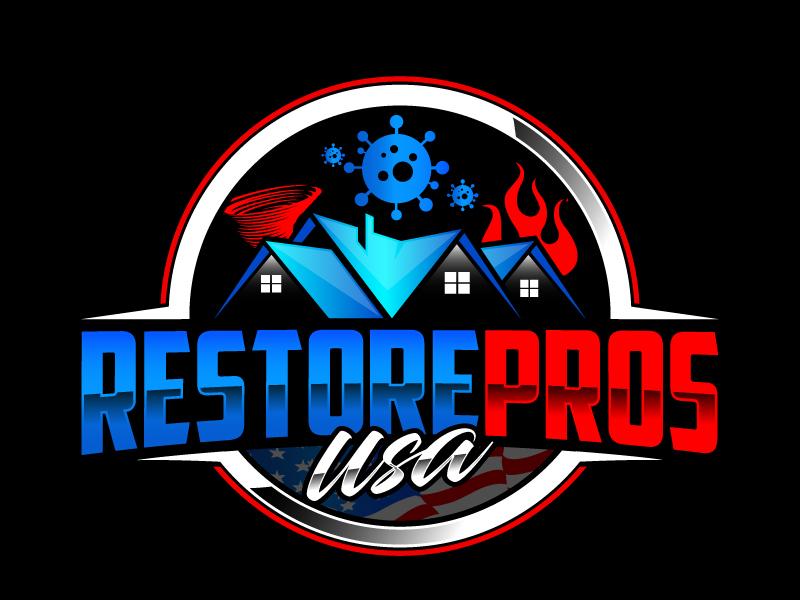 Restore Pros USA logo design by daywalker