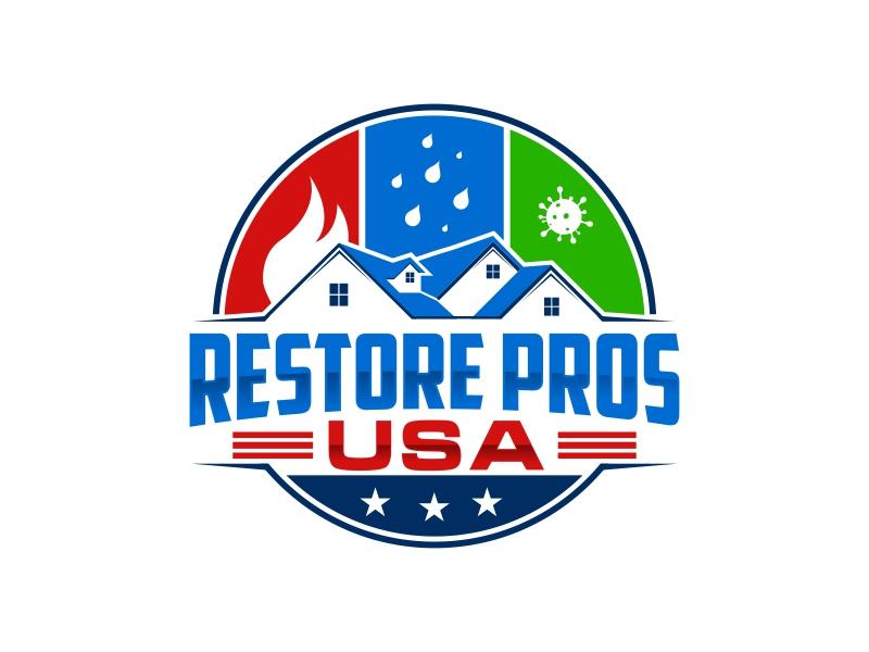Restore Pros USA logo design by rizuki