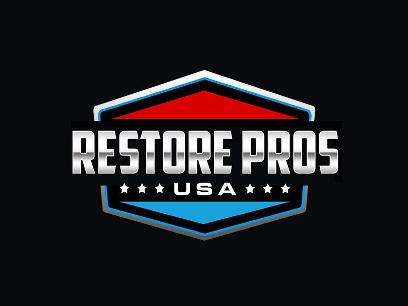 Restore Pros USA logo design by kunejo